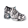 Zebra Platform Shoes Adult